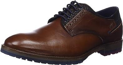 TALLA 40 EU. Fluchos Ciclope, Zapatos de Cordones Derby para Hombre
