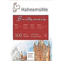 Hahnemühle 10 628 640 Britannia Sıcak Pres 17X24 Suluboya Bloğu