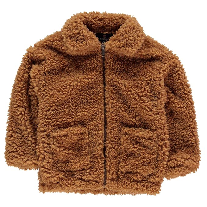 new items price Super discount Firetrap Kids Girls Teddy Coat Infant Fur Faux Top Jacket ...