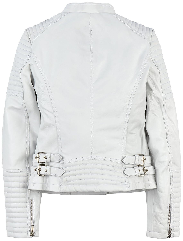 Urban Leather Fashion Lederjacke Sylvia, navy blue, Größe 42, XL
