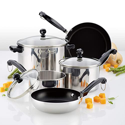 Farberware 70221 Stainless Steel Cookware Set Review
