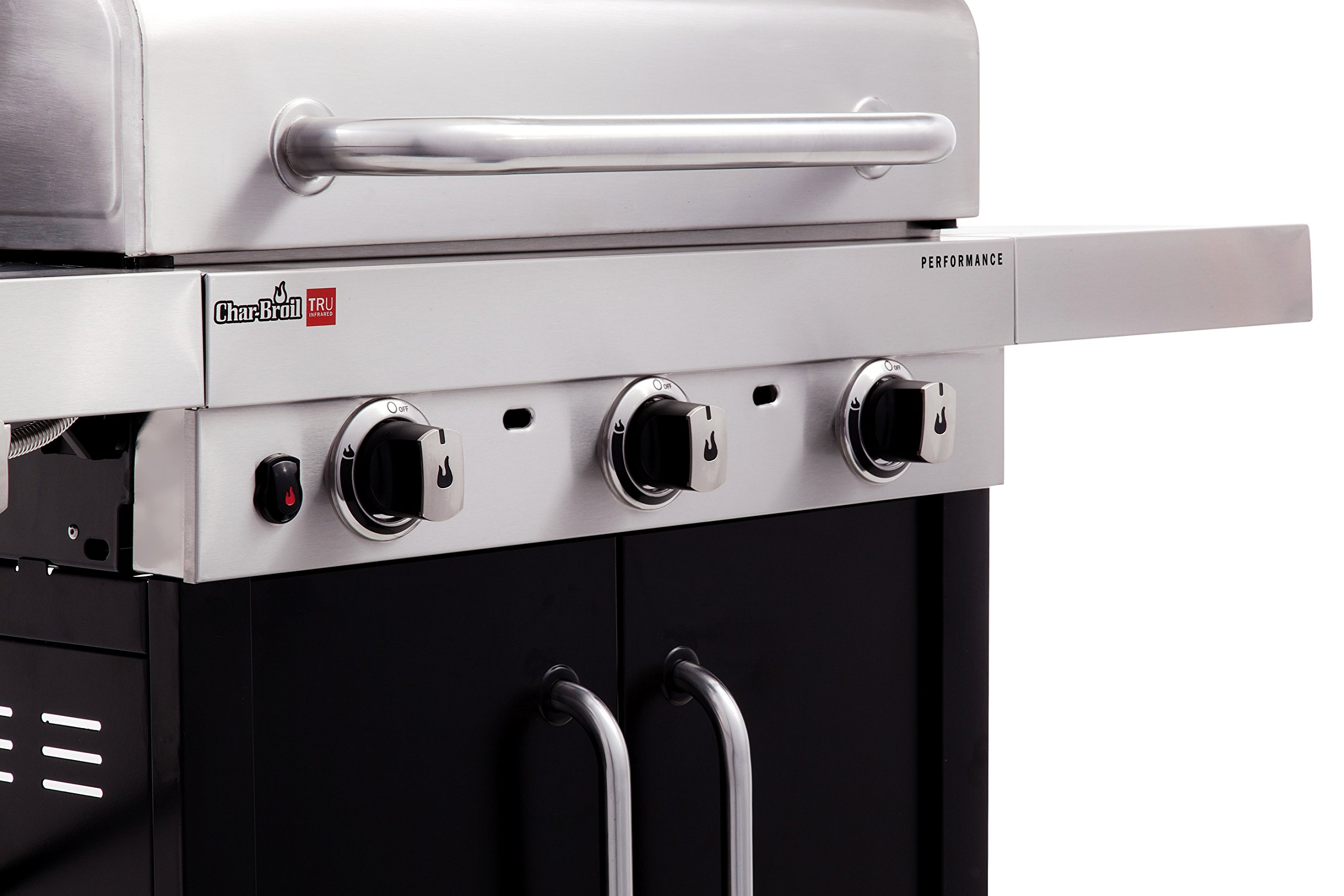 Char-Broil Performance TRU-Infrared 450 3-Burner Cabinet Liquid Propane Gas Grill by Char-Broil (Image #7)