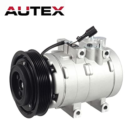 autex ac compressor \u0026 a c clutch kit co 10921c 57197 tem255705 replacement for 2003 2004 2005 2006 hyundai santa fe 2001 hyundai xg300 2002 2003 2004 2011 Hyundai Sonata A C Compressor