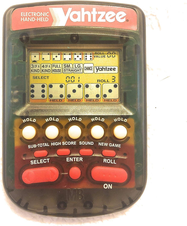 New Yahtzee Handheld Digital Game Free Shipping