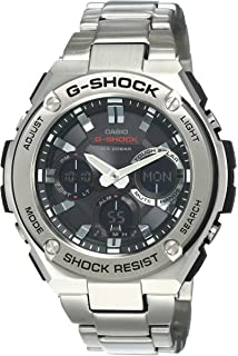 Amazon.com: Casio Mens G-Steel by G-Shock Quartz Solar ...