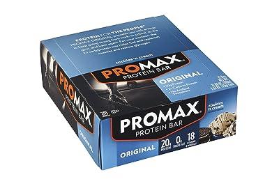 Promax Protein Bar, Cookies 'n Cream, 12-Pack