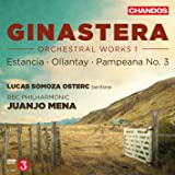 Ginastera: Orchestral Works, Vol. 1