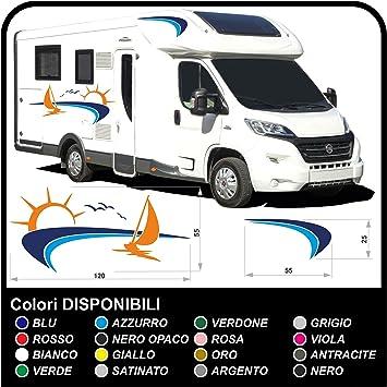 Aufkleber Für Wohnmobile Graphics Vinyl Aufkleber Aufkleber Set Camper Van Rv Caravan Wohnmobil Grafik 18 Eine Andere Color Kontakt Auto