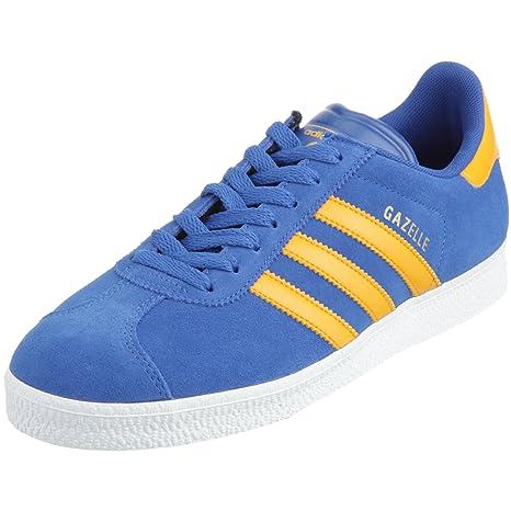 ADIDAS Gazelle 2, scarpa uomo freetime, blu-giallo, Taglia: 40 -