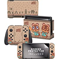 Controller Gear Authentic and Officially Licensed Animal Crossing: New Horizons - Timmy & Tommy Nintendo Switch Skin Bundle - Nintendo Switch