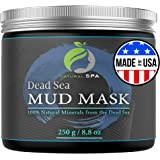 USA Made Dead Sea Mud Mask - Natural Face and Body Cleanser with Minerals 8.8 oz - New Improved Formula