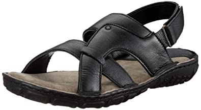 3f0149601 Burwood Men s Leather Formal Sandals  Buy Online at Low Prices in ...