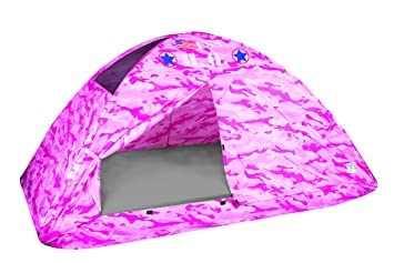 Pacific Play Tents Kids Pink Camo Bed Tent Playhouse - Twin Size  sc 1 st  Amazon.com & Amazon.com: Pacific Play Tents Kids Pink Camo Bed Tent Playhouse ...