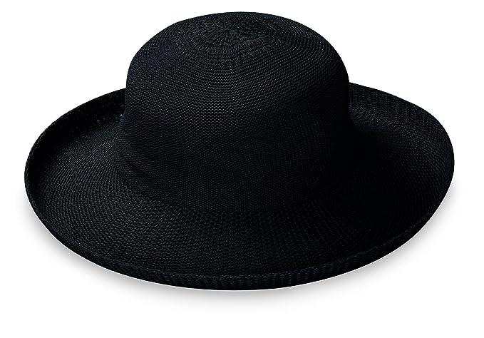 307f8e2de17 Wallaroo Hat Company Women s Petite Victoria Sun Hat – Black – Packable