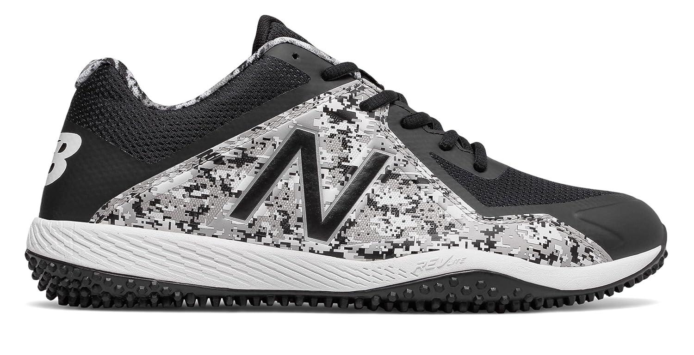 (ニューバランス) New Balance 靴シューズ メンズ野球 Turf Pedroia 4040v4 Black with Camo Green ブラック カーモ グリーン US 15 (33cm) B073YQGS7B