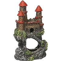 "Penn-Plax RRW5B Mini Magical Castles Aquarium Ornament, 4"""