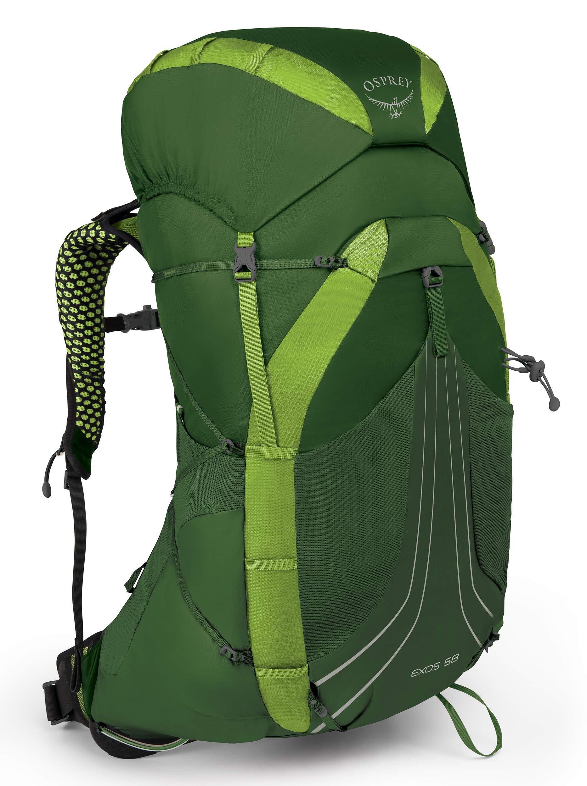 Tunnel Green Small 10001490 Osprey Packs Exos 58 Backpacking Pack
