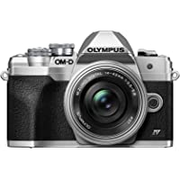 Olympus OM-D E-M10 Mark IV Silver Body with Silver M.Zuiko Digital ED 14-42mm F3.5-5.6 EZ…
