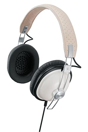 Panasonic RP-HTX7-W Retro-Style Monitor Stereo Headphone Blanco Supraaural Auricular: Amazon.es: Electrónica