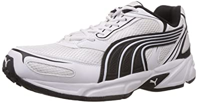 Puma Aron Para Hombre Zapatos Deportivos Blancos wNaSijDl6S