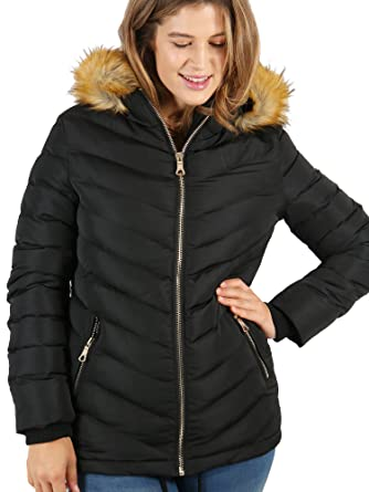 8a4694e6a7c Lovedrobe women s plus size black diagonally quilted jacket (16 ...