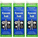 White Mountain Epsom Salt 2 Lb Containers (Pack of 3)