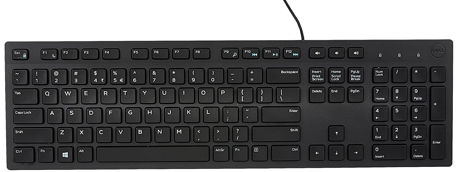 Dell Wired Keyboard KB216 (580-ADMT)