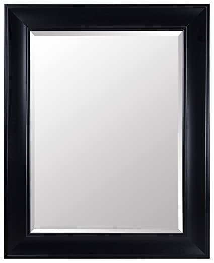 Amazon.com: Gallery Solutions Large 39X49 Beveled Mirror with 5 inch ...