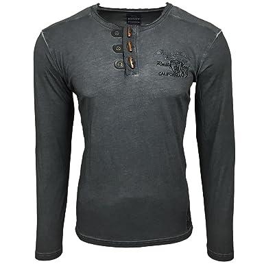 Rusty Neal Herren Langarm Longsleeve T Shirt Sweatshirt