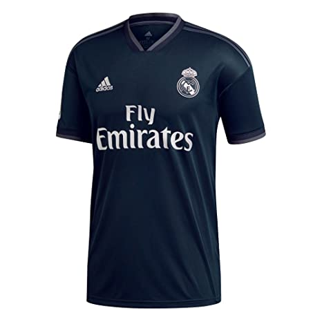 e0440db59a4 adidas 2018-2019 Real Madrid Away Shirt (Kids). Roll over image to ...