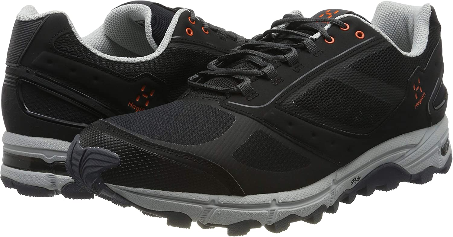 Haglöfs gram Gravel, Zapatillas de Trail Running para Hombre, Negro (True Black 2c5), 43 1/3 EU: Amazon.es: Zapatos y complementos