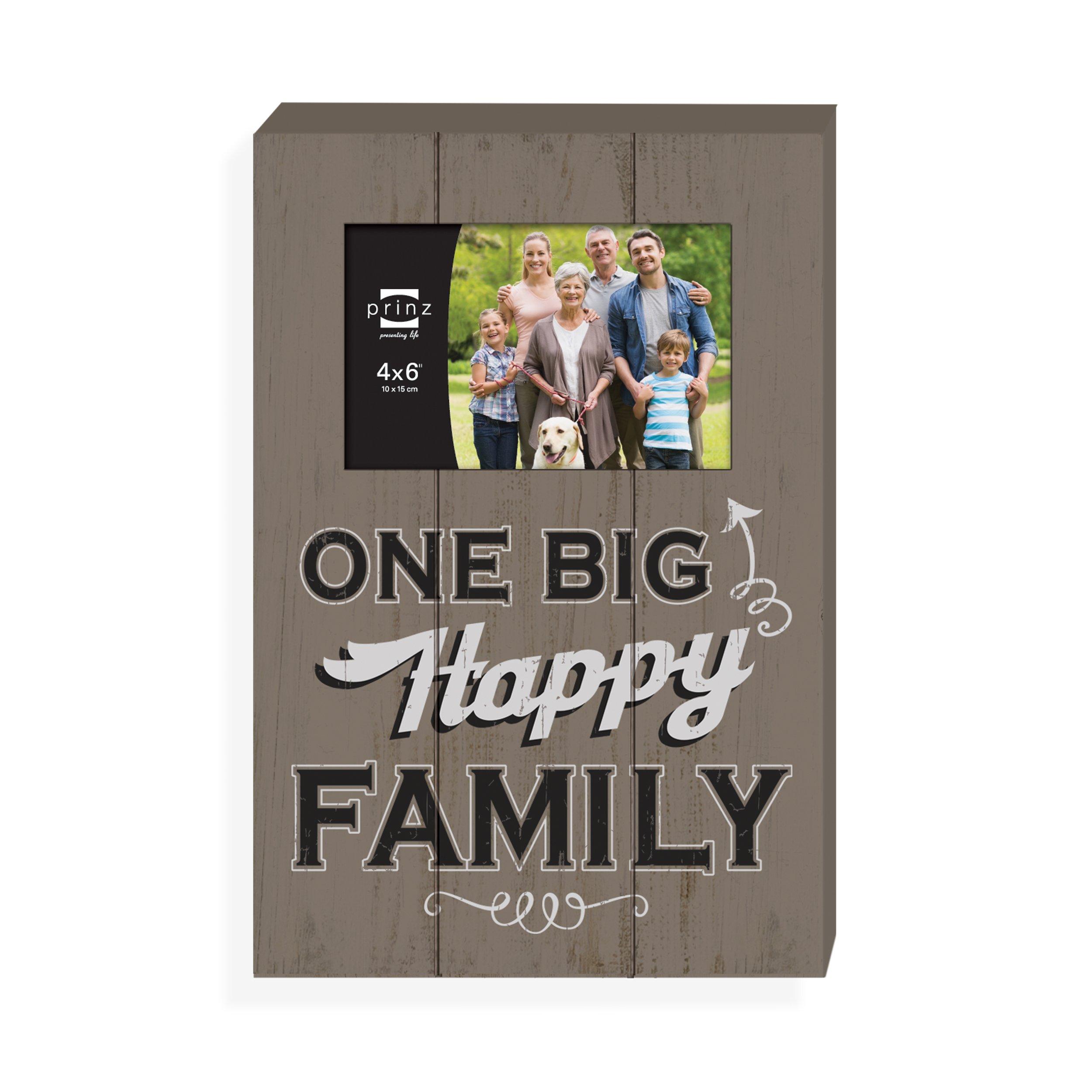 Prinz Everyday 'One Big Family' Wood Plaque, 4'' x 6'' by PRINZ