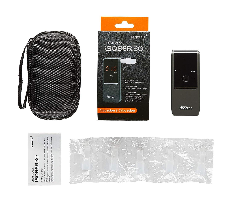 Amazon.com: iSOBER 30 - Alcoholímetro portátil para uso ...