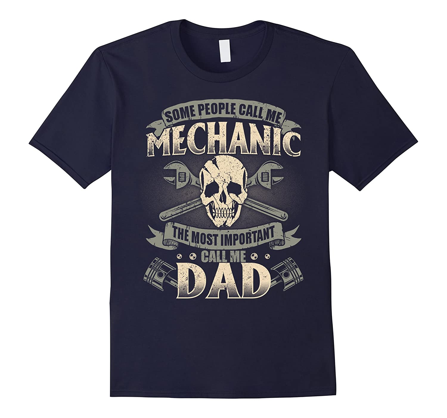 Cool Gift For Mechanic Dad Perfect Shirt For Mechanic Men-TH