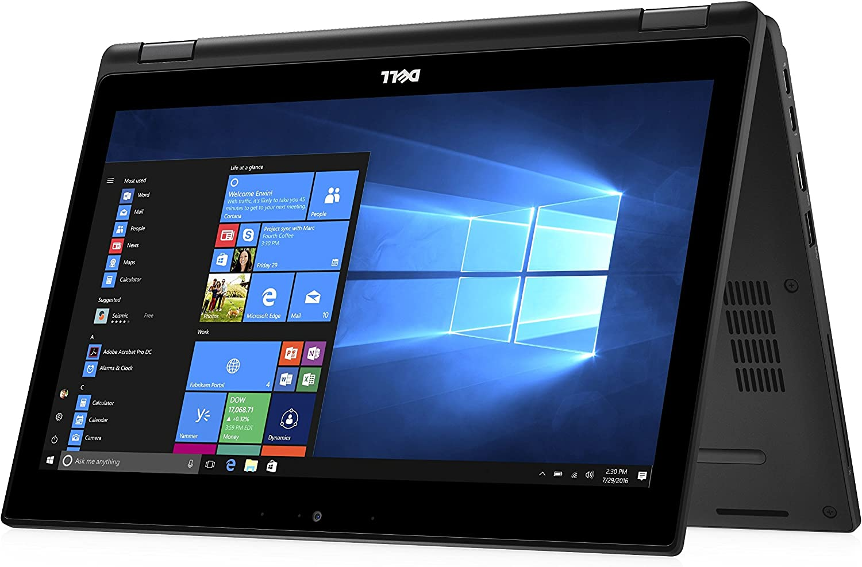 "Dell Latitude 12 5000 5289 2-IN-1 Business Laptop - 12.5"" Gorilla Glass TouchScreen FHD (1920x1080), Intel Core i5-7300U, 256GB SSD, 8GB RAM, Backlit Keys, NFC, Windows 10 Pro (Renewed)"