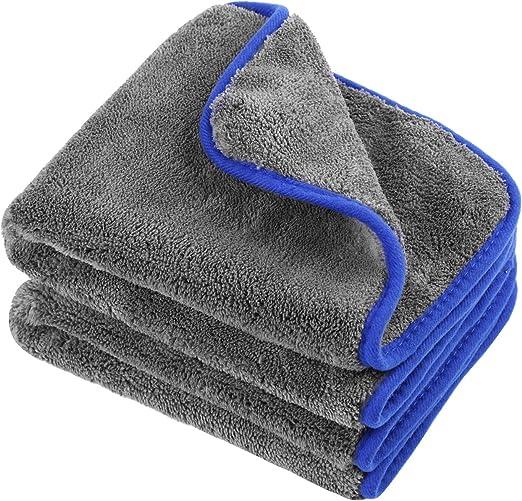 Durable Microfiber Towel Soft Car Cleaning Wash Clean Wax Polishing Cloth Tool