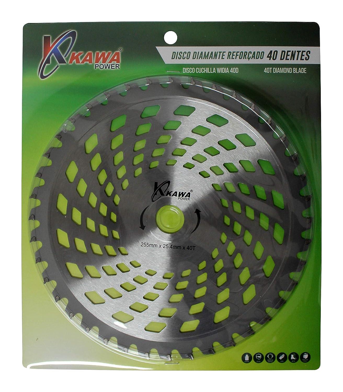 Kawapower KW002 Disco cuchilla de Widia con 40 puntas para ...