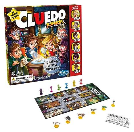Hasbro Gaming Juegos Cluedo Junior C1293105 Amazon Es Juguetes Y