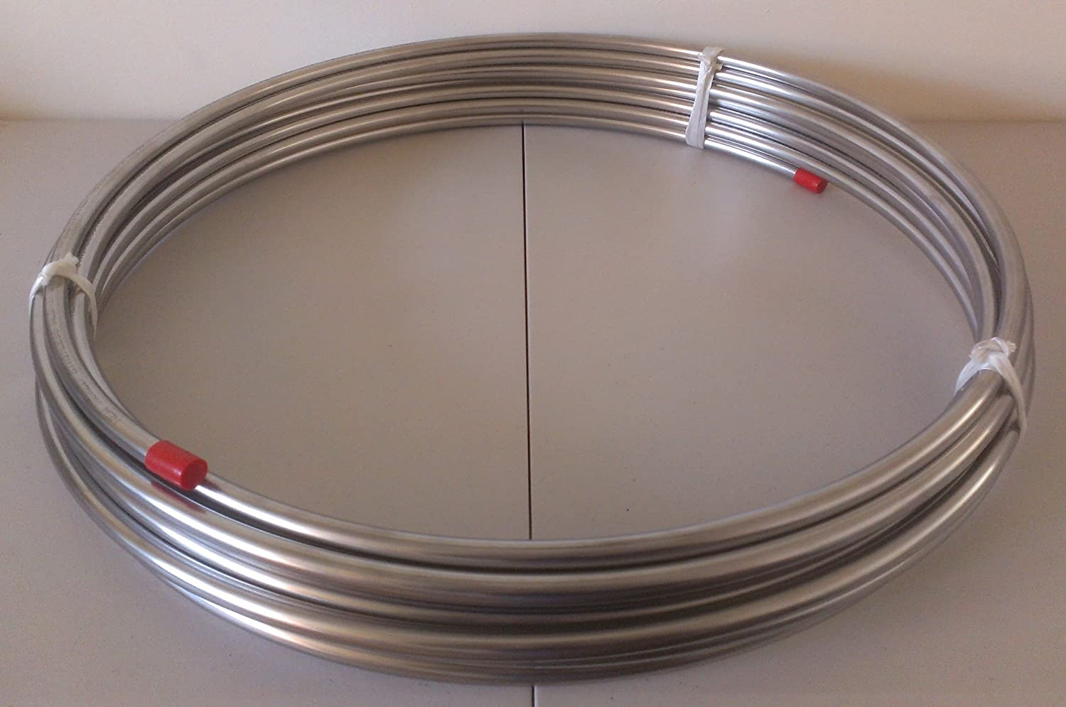 """304 STAINLESS STEEL TUBE stock round tubing pipe 3//8/"""" OD x .035/"""" WALL x 12/"""" OAL"""
