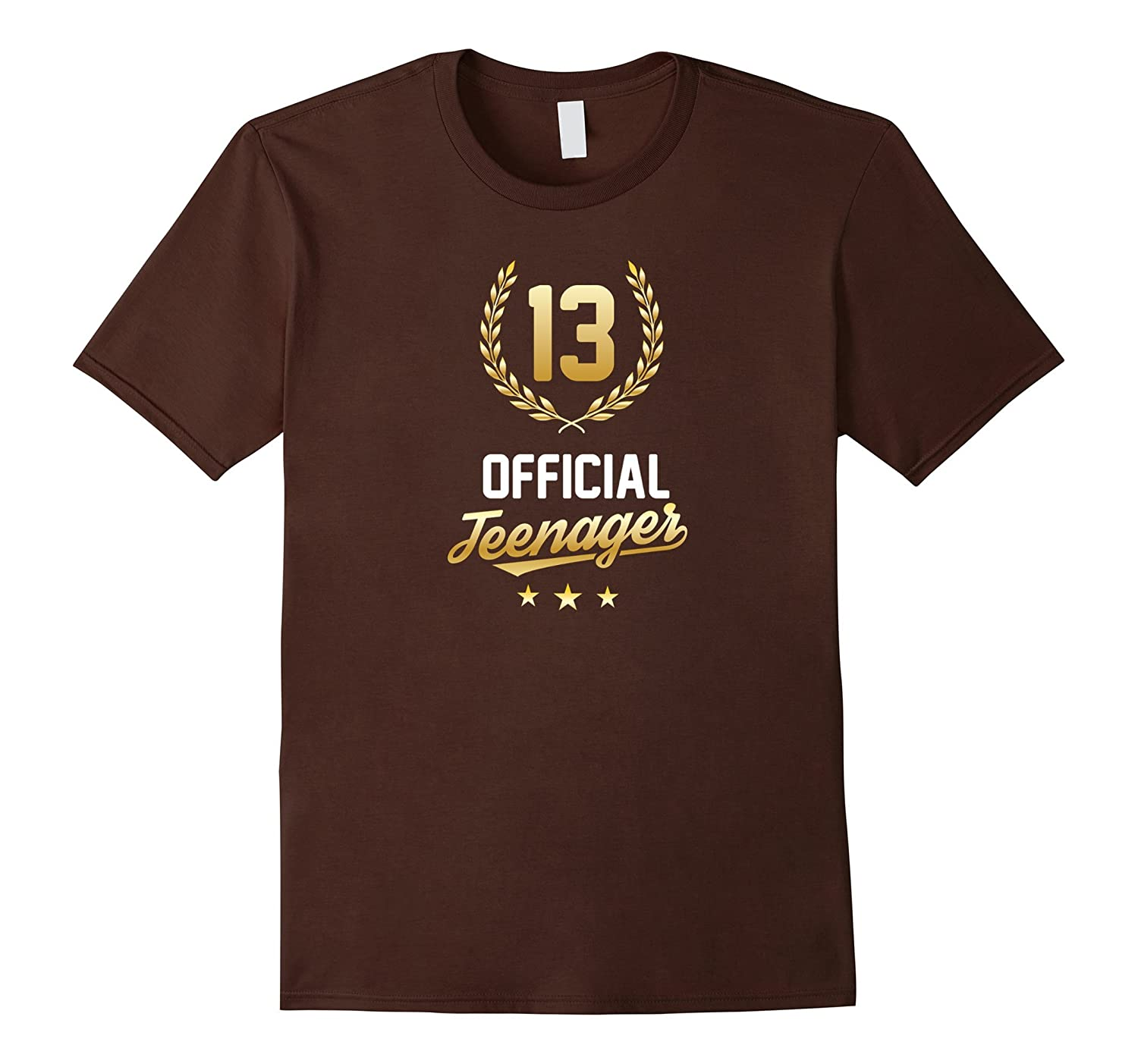 13th Birthday Official Teenager Cool Shirt-CD
