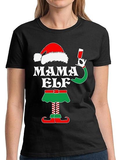 Tacky Christmas Sweatshirt Mama Elf Christmas Shirt Holiday Christmas Tacky Shirt 4X3VOq0zF