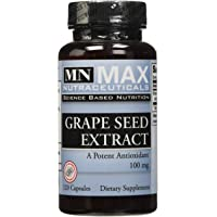 Max Nutraceuticals - Mn Grapeseed Extract 100Mg 120Vcaps