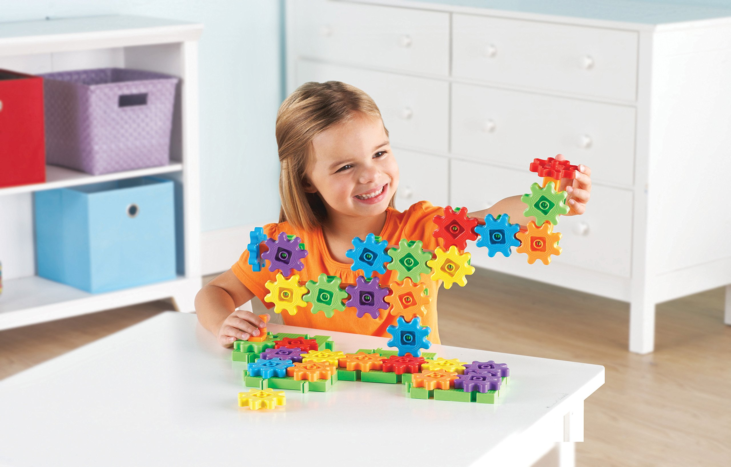 Learning Resources Gears! Gears! Gears! Starter Building Set, 60 Pieces by Learning Resources (Image #2)