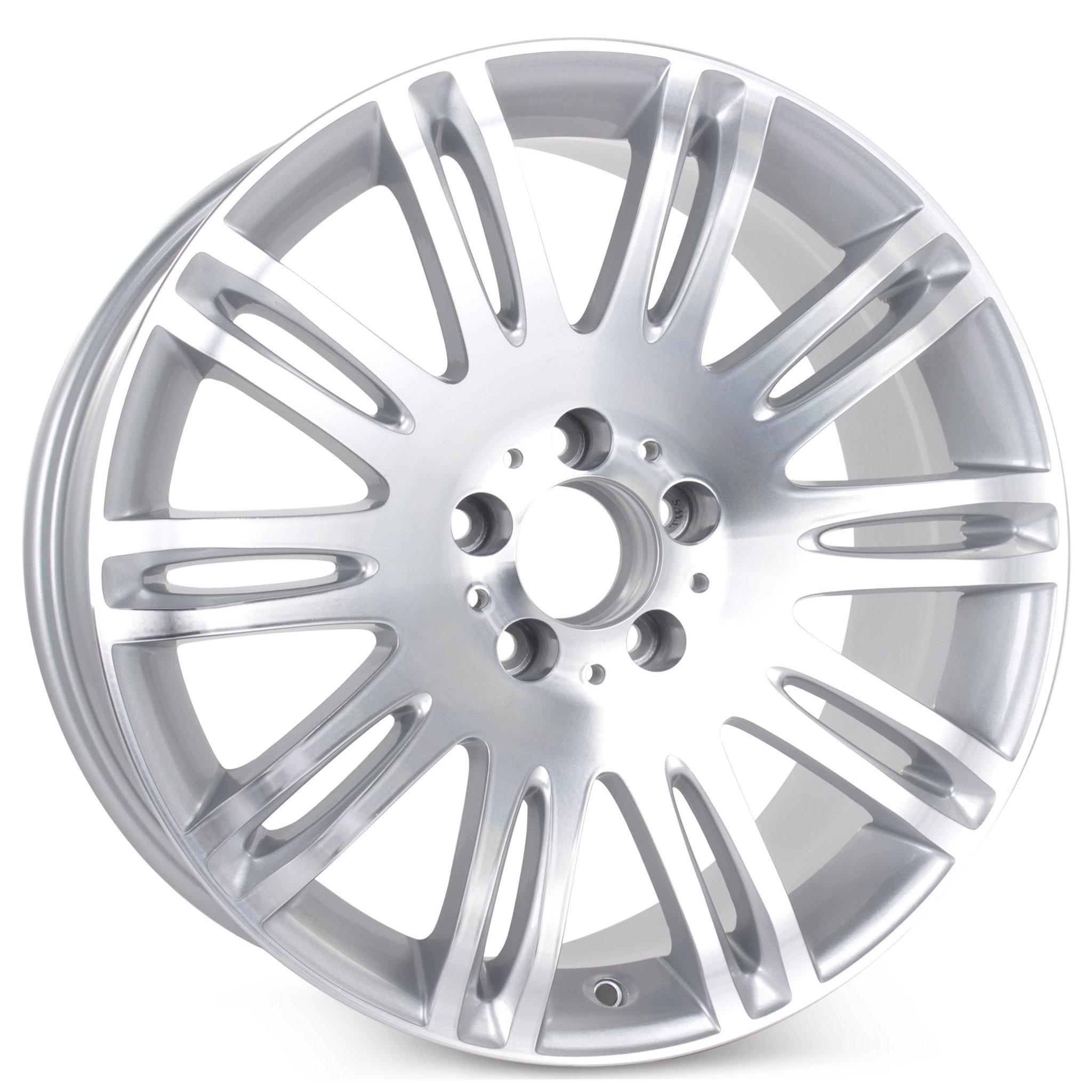 Brand New 18'' x 8.5'' Alloy Replacement Wheel for Mercedes E350 E550 2007 2008 2009 Rim 65432 Machined
