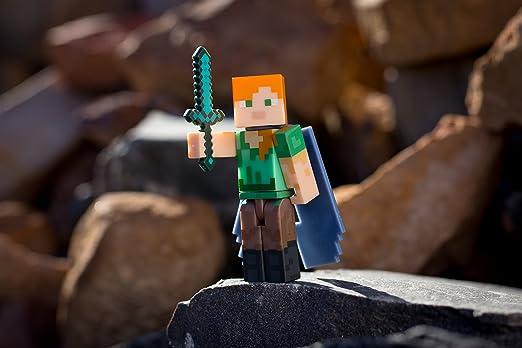 Armatura Di Catene Minecraft.Minecraft 16492 Steve In Catena Armour Figure Personaggi