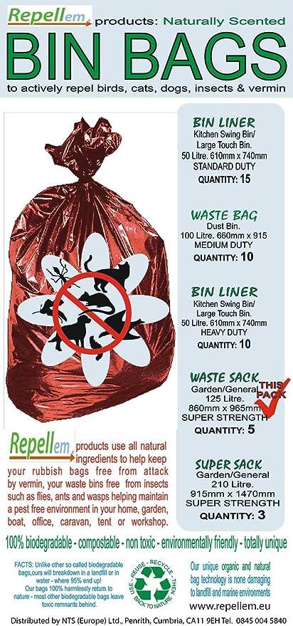 repellem fuerte repelente y biodegradable jardín residuos/jardín ...