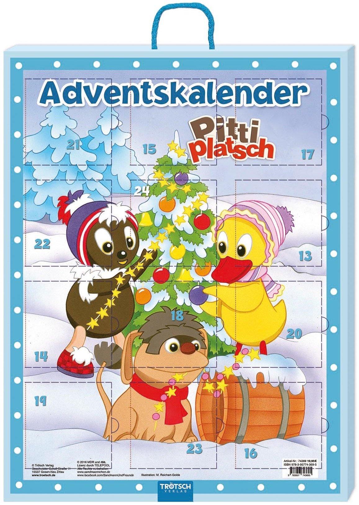 Adventskalender Pittiplatsch: 24 Mini-Büchlein Broschüre – Adventskalender, 1. September 2016 Trötsch Verlag Troetsch 3957743699 empfohlenes Alter: ab 3 Jahre
