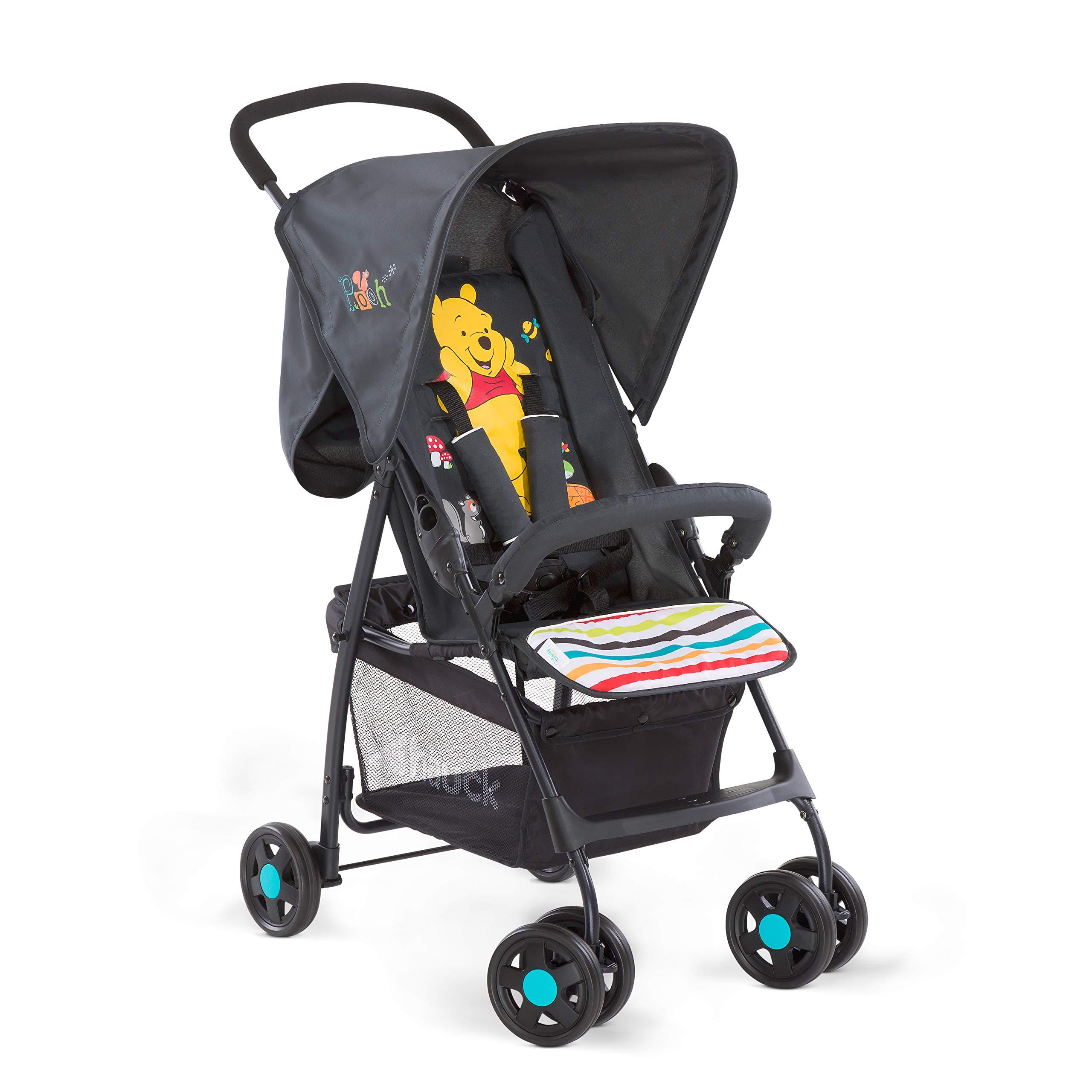 Hauck Sport - silla de paseo ultra ligera de 5,9kg, sistema de arnés