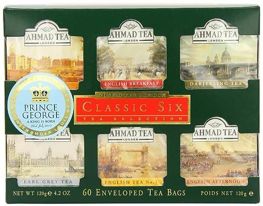 5 opinioni per Ahmad Tea Classic Six, Confezione da 60 Bustine di Te