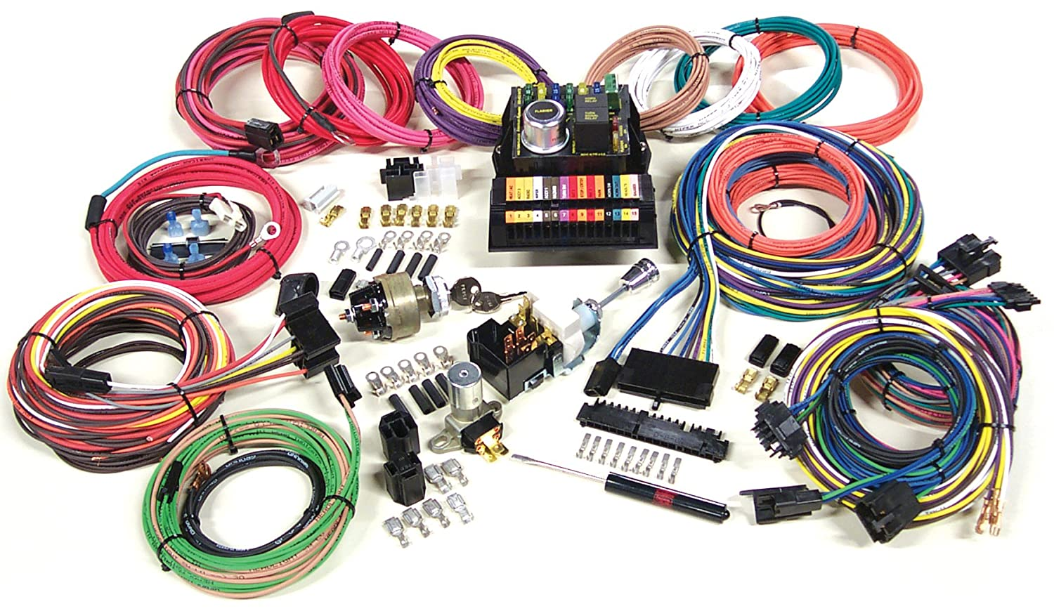 Amazon.com: American Autowire 500703 Highway 15 Modular Wiring Panel:  Automotive